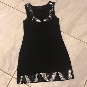 Black Express Sequenced Dress 👗
